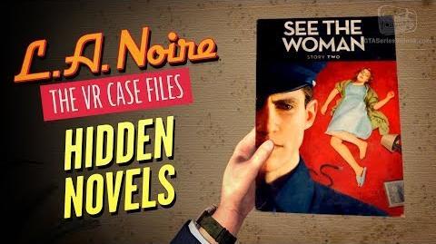 LA Noire VR - Novels Locations Well Read Individual Achievement Trophy
