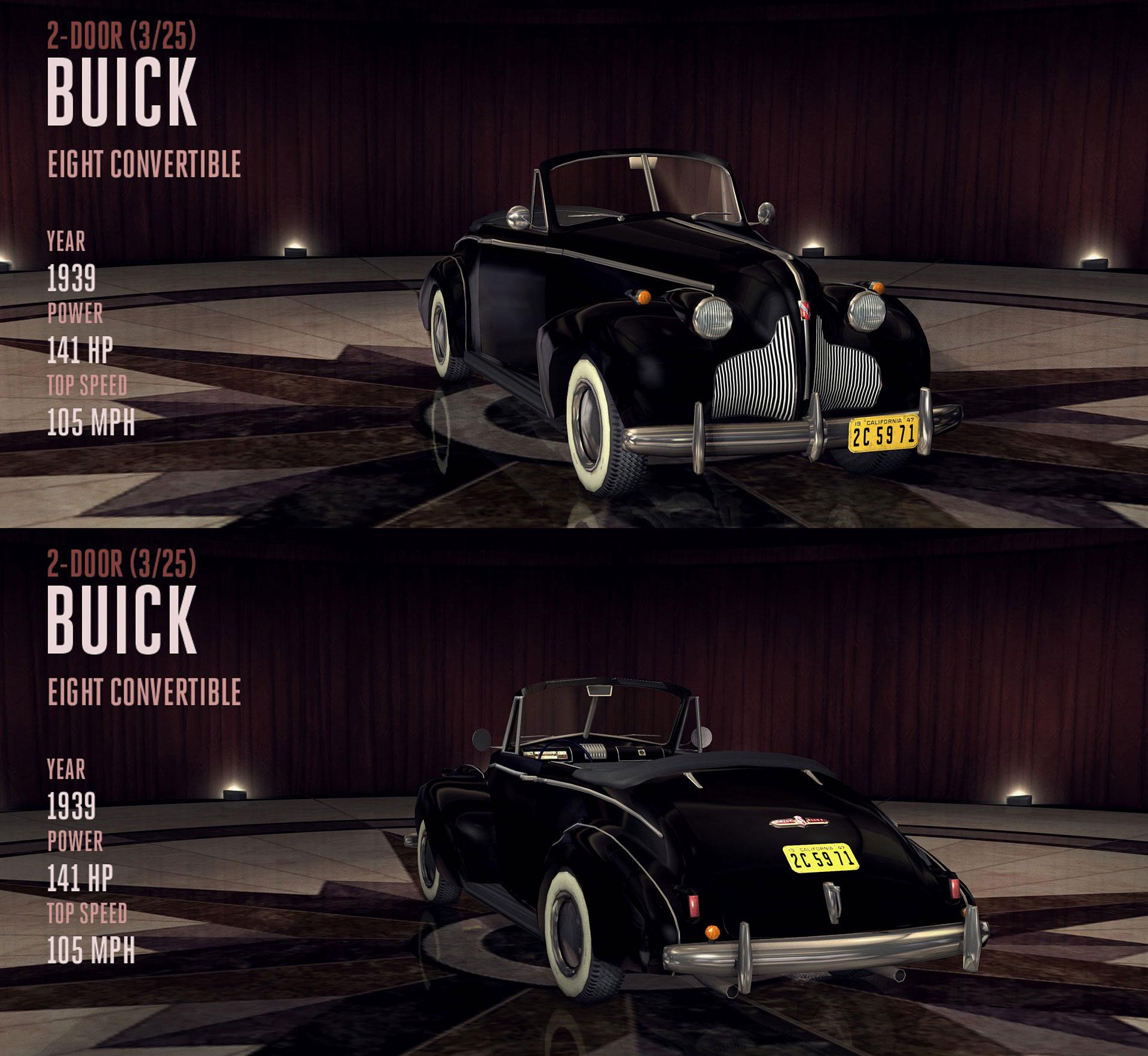 Buick Eight Convertible