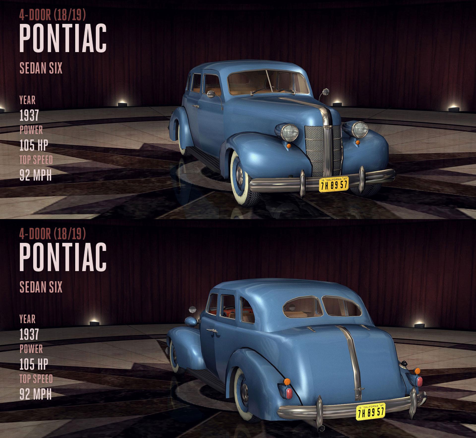 Pontiac Sedan Six