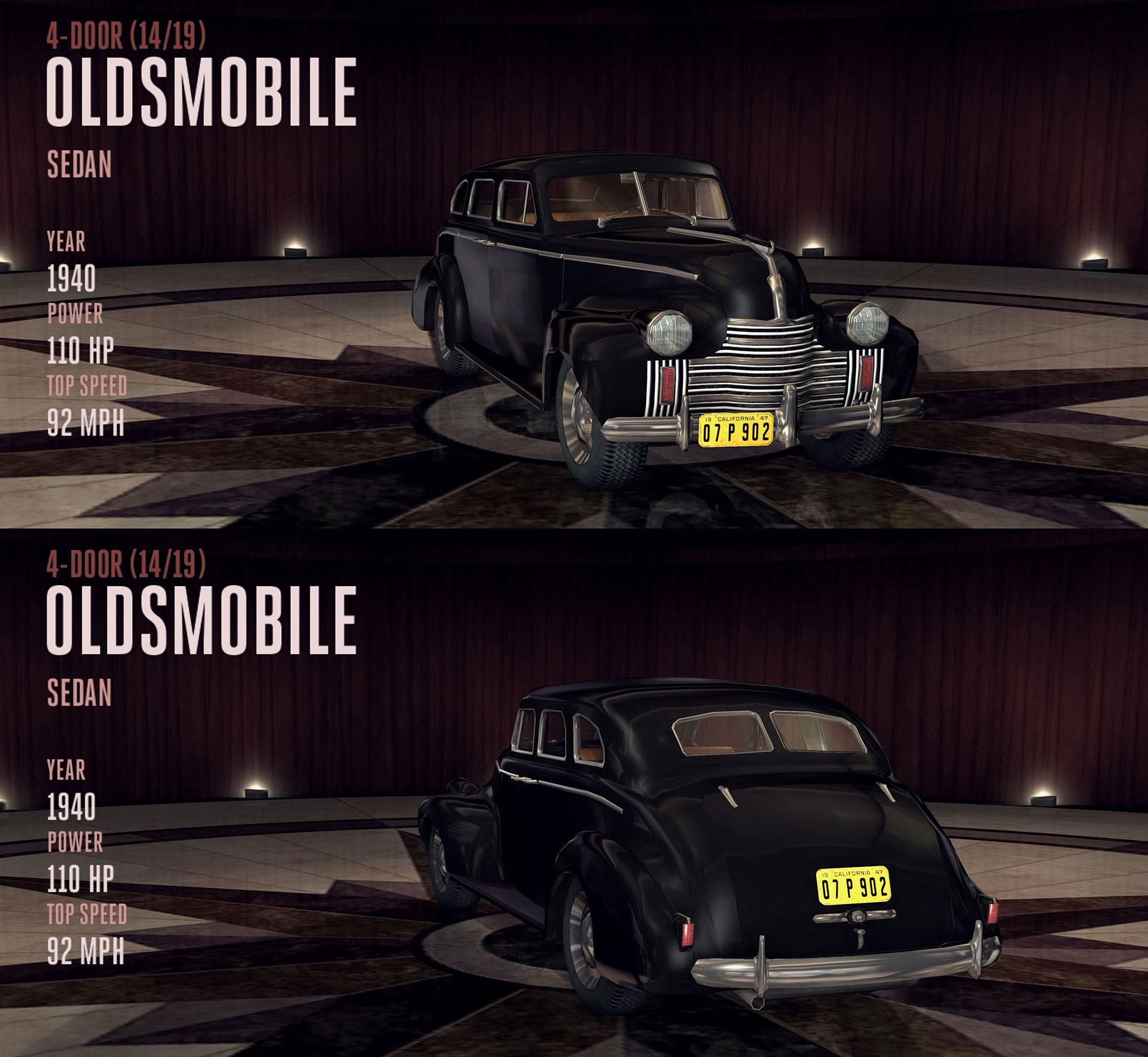Oldsmobile Sedan