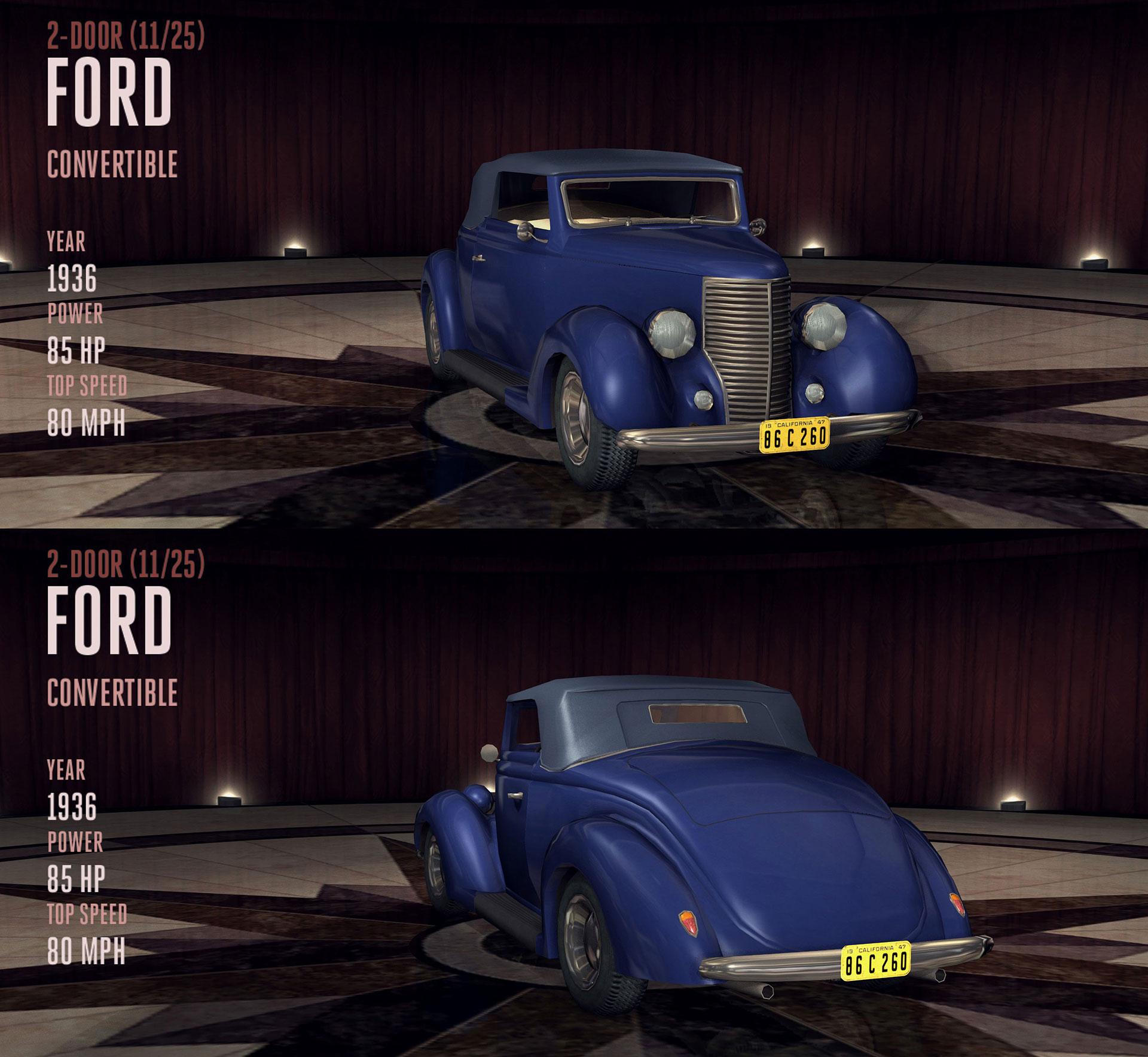 Ford Convertible L A Noire Wiki Fandom