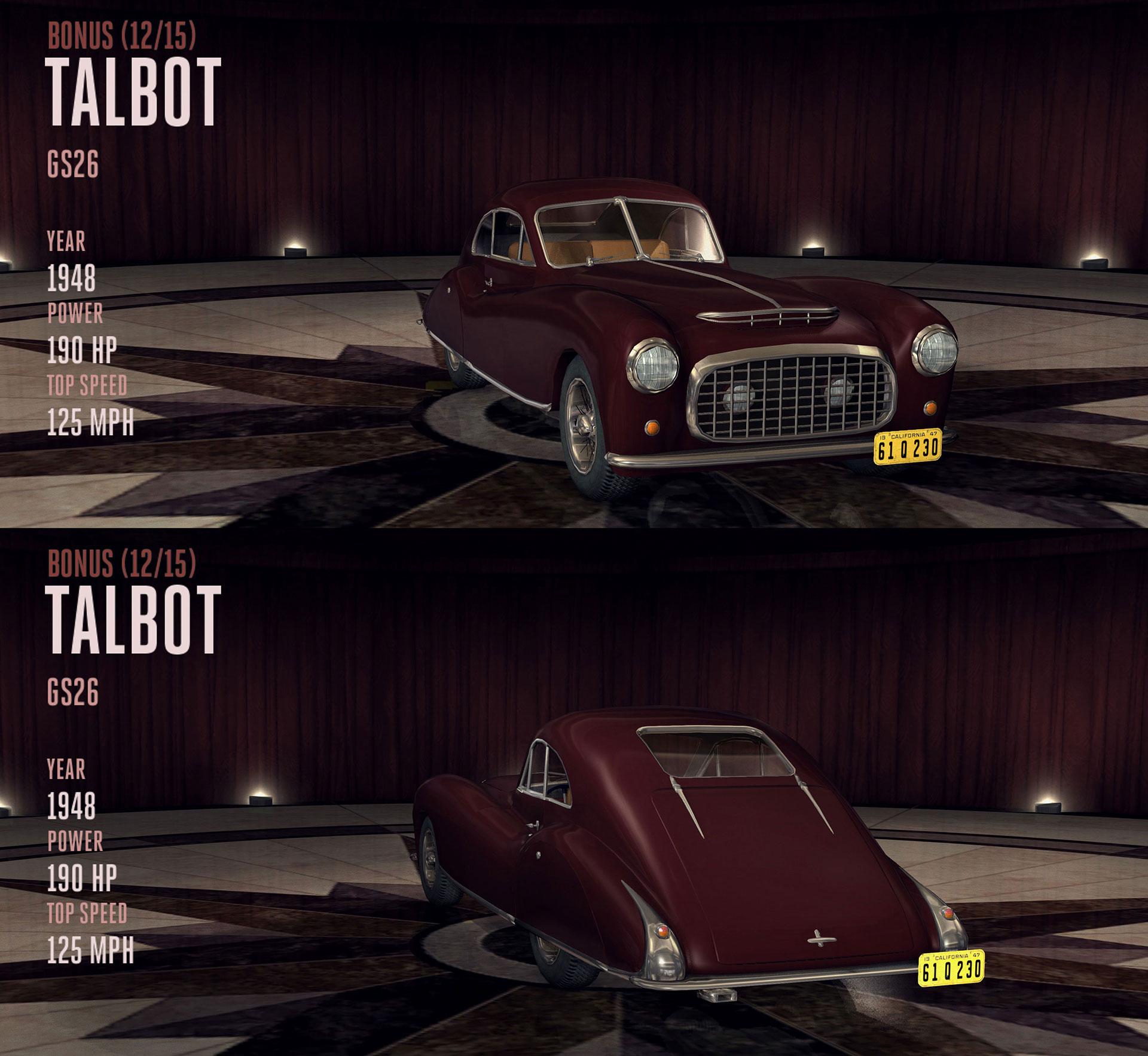 Talbot GS26