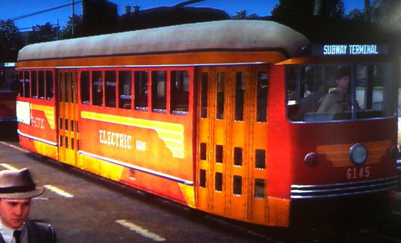 Pacific Electric Railway Streetcar