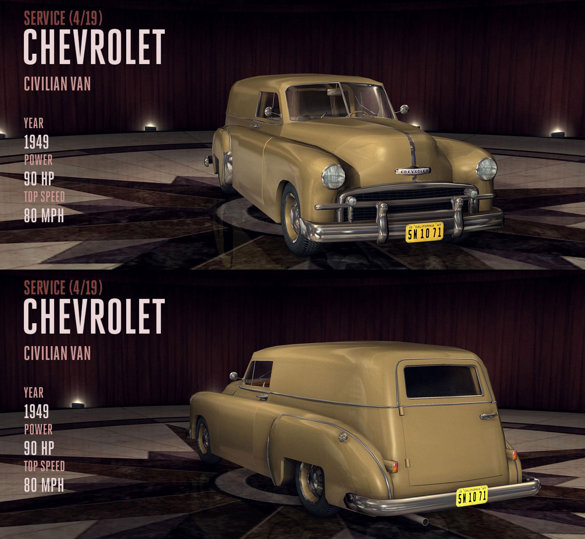 Chevrolet Civilian Van