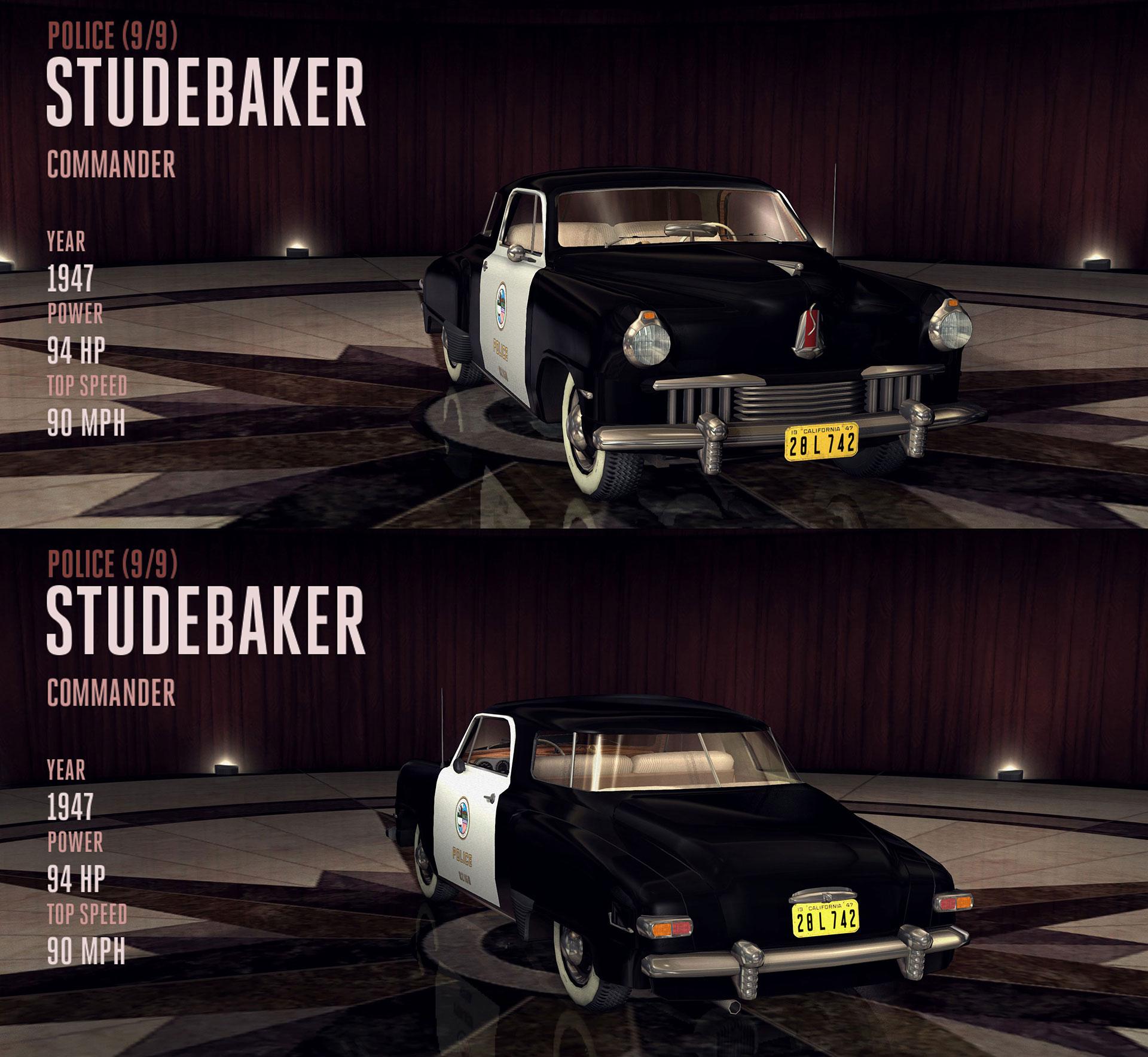 Studebaker Commander (Police)