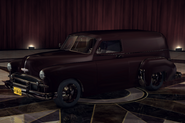 ChevyCivilianVan Maroon