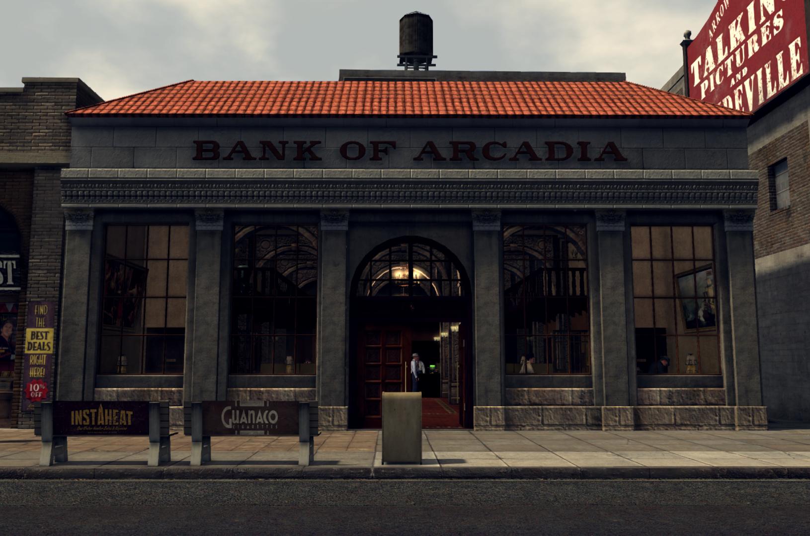 Bank of Arcadia
