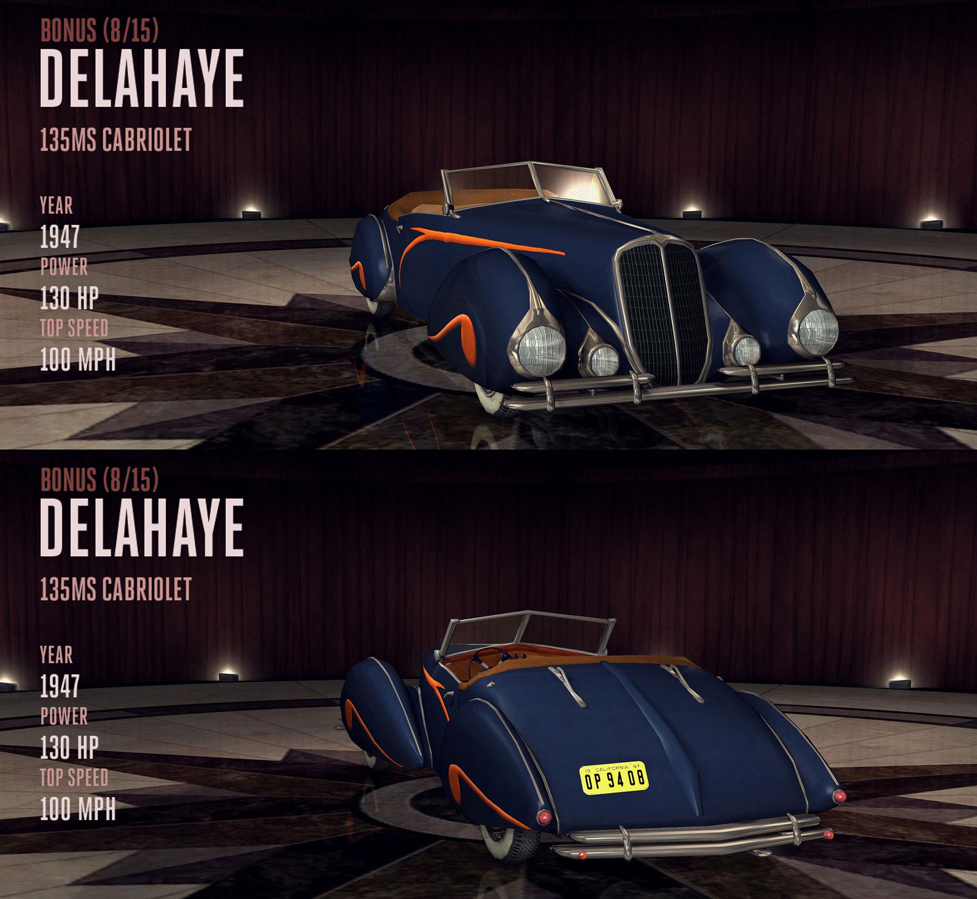 Delahaye 135MS Cabriolet