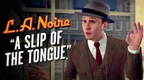 LA Noire Remaster - Case 8 - A Slip of The Tongue (5 Stars)