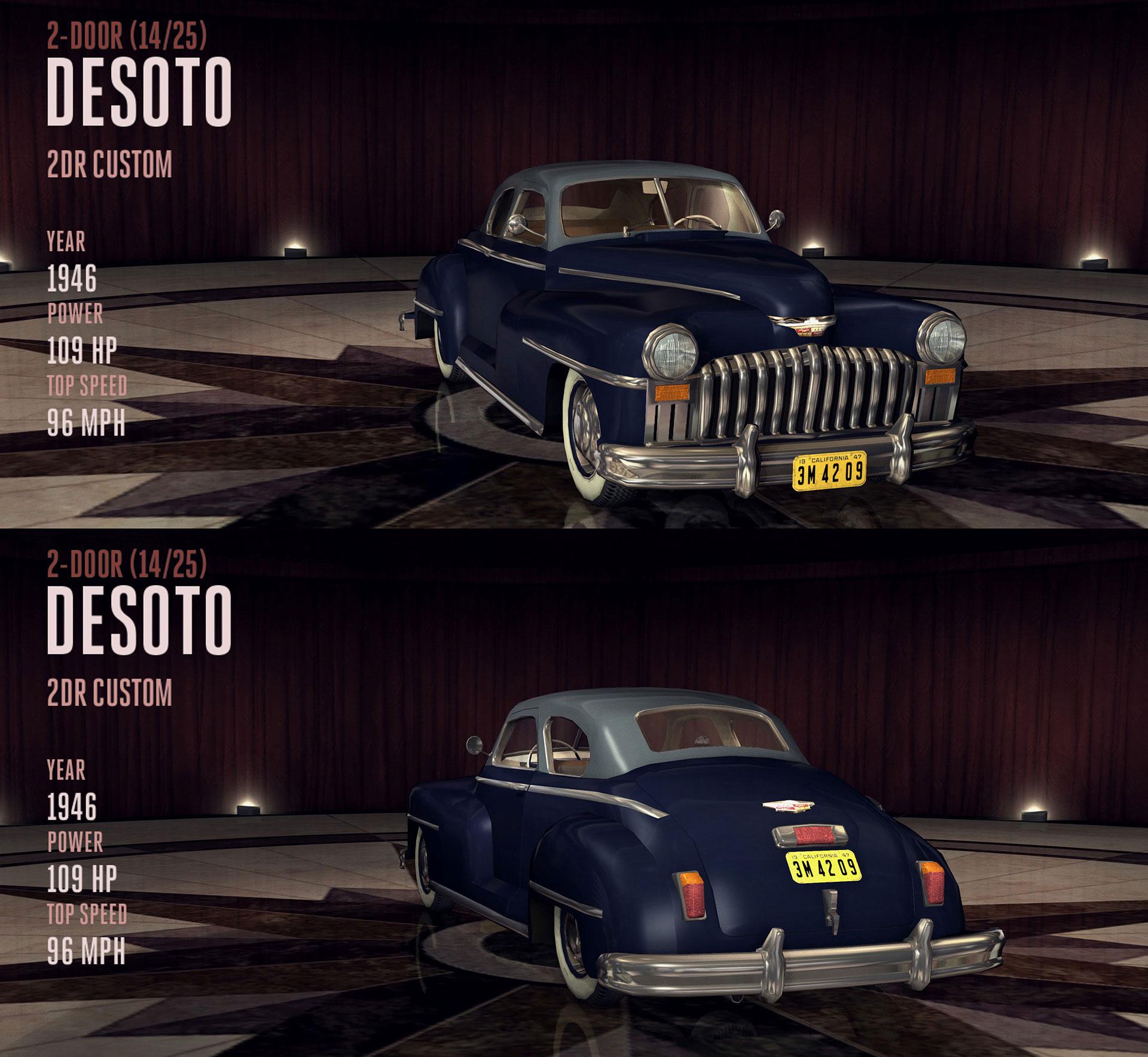 DeSoto 2DR Custom