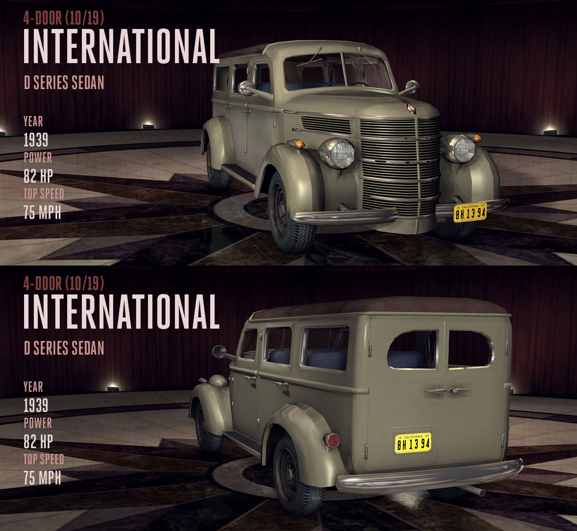 International D Series Sedan