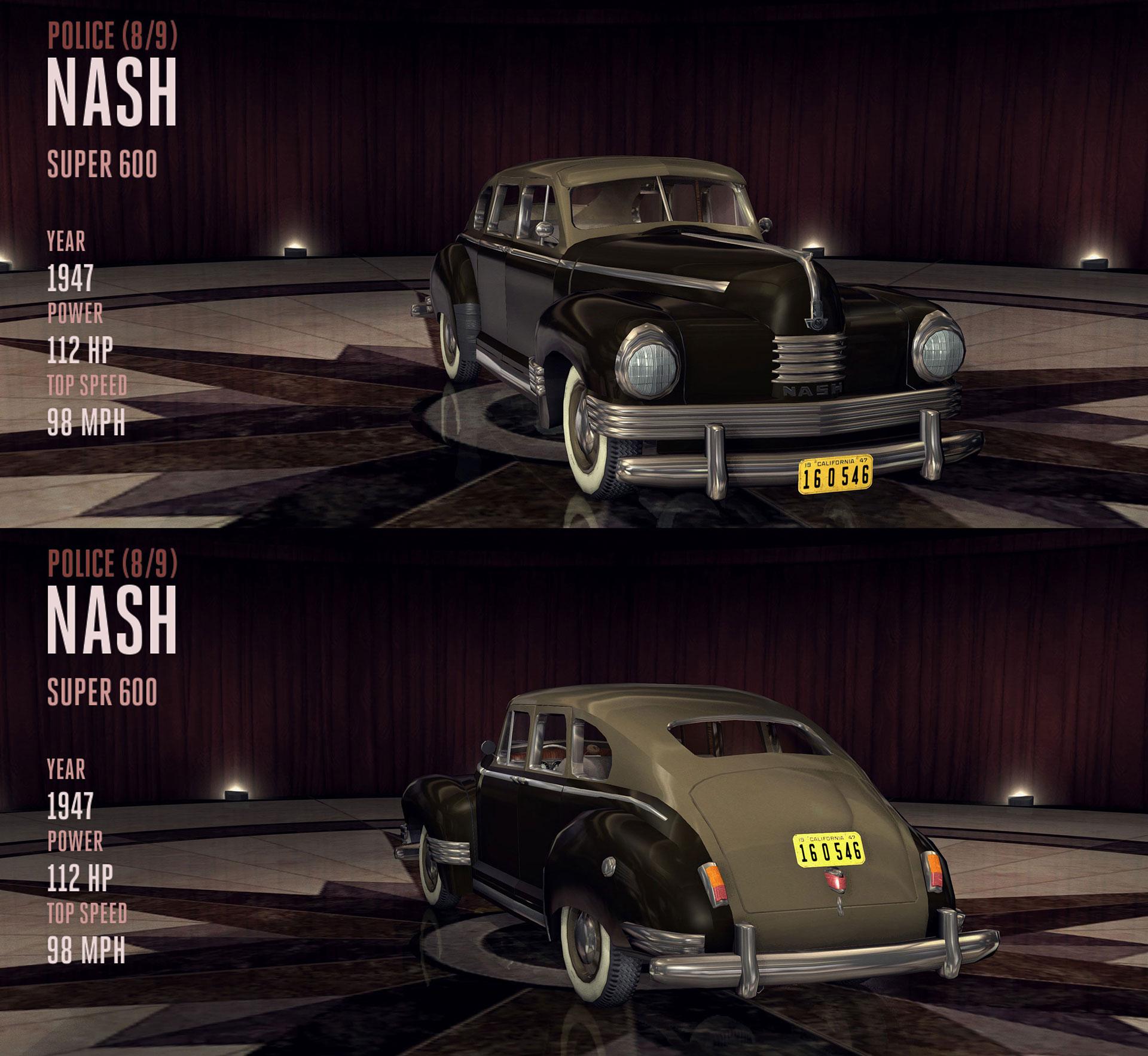 Nash Super 600 (Police)