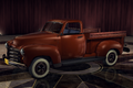 GMCPickup Red