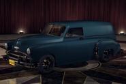 ChevyCivilianVan Blue