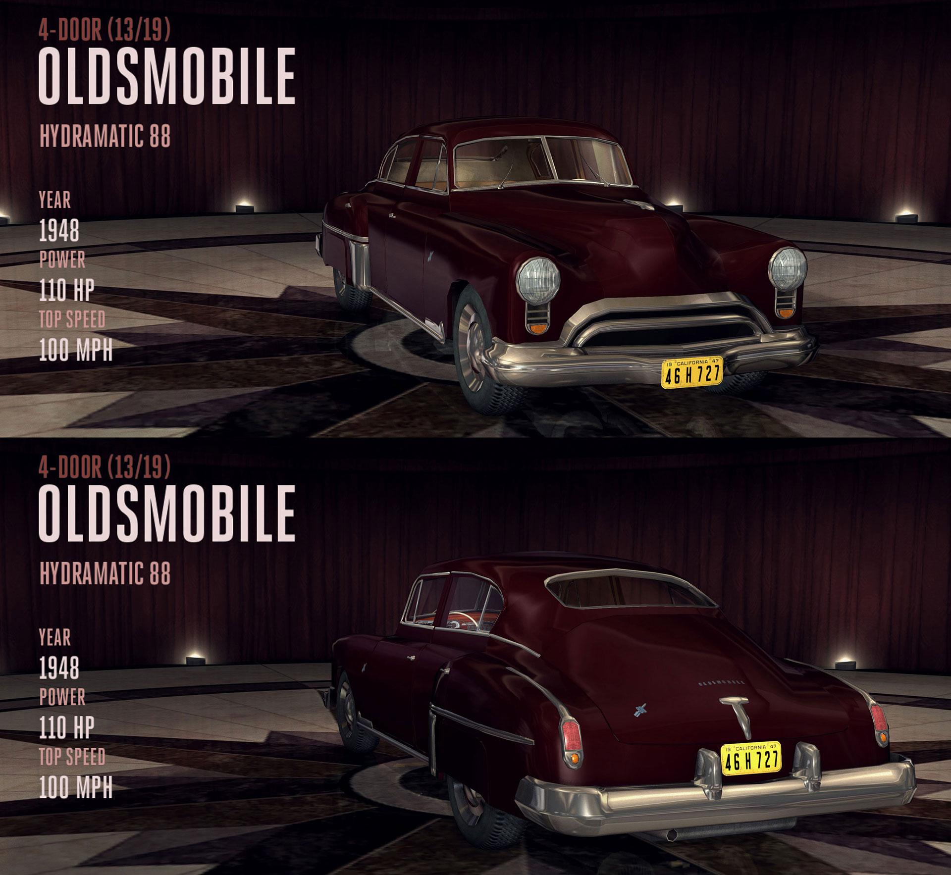 Oldsmobile Hydramatic 88