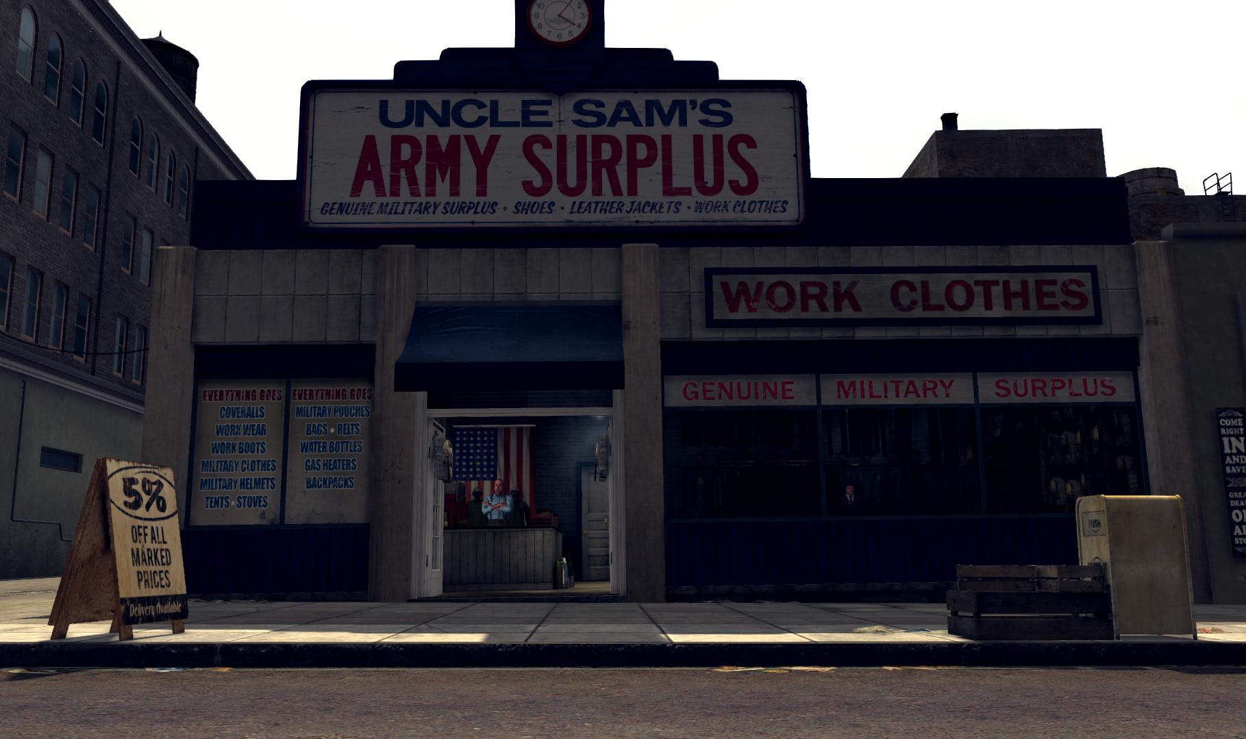 Uncle Sam's Army Surplus