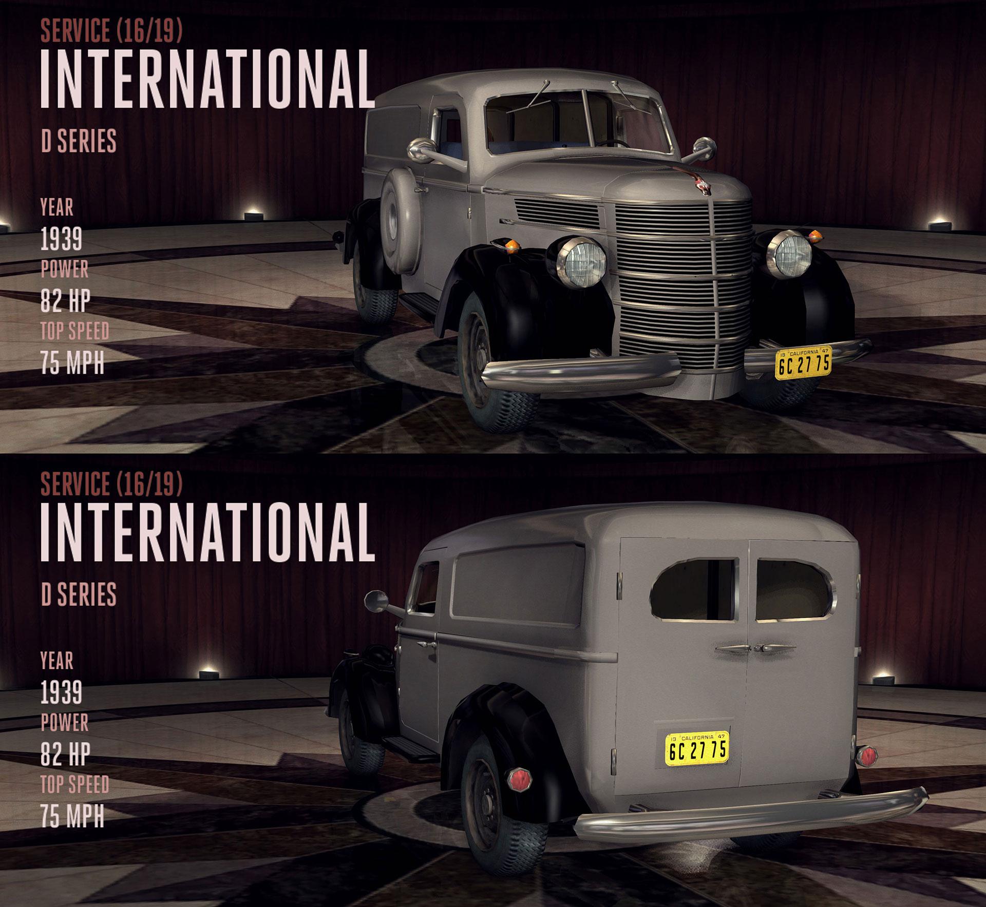 International D Series