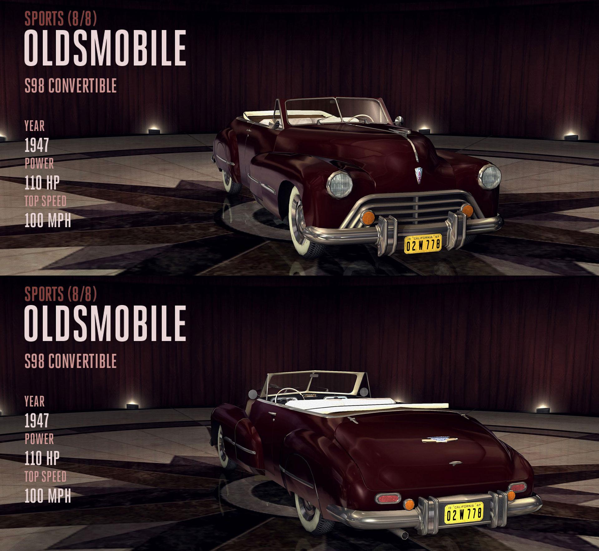 Oldsmobile S98 Convertible