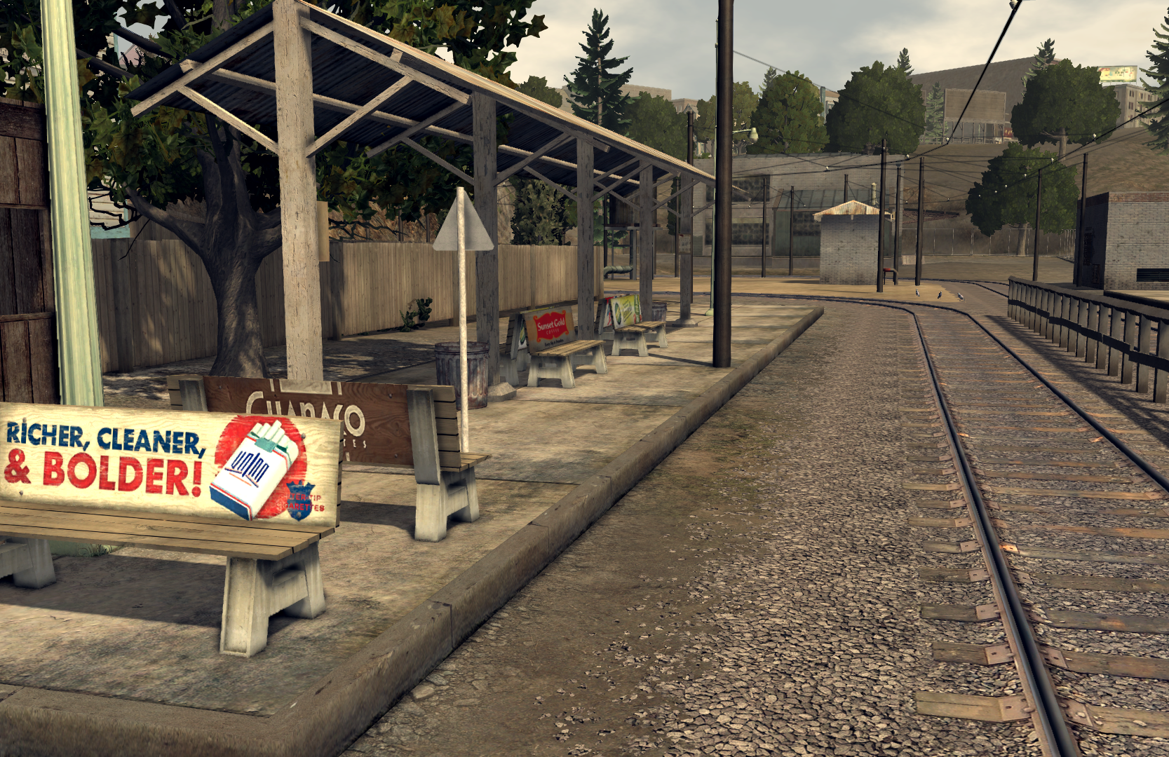 Lucas Avenue Trolley Station