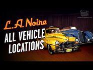 LA Noire Remaster - All Vehicle Locations -Auto Fanatic Trophy - Achievement-