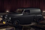 ChevyCivilianVan Black