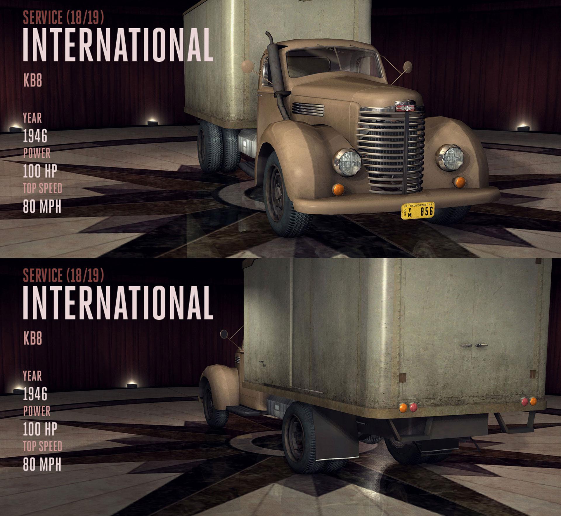 International KB8