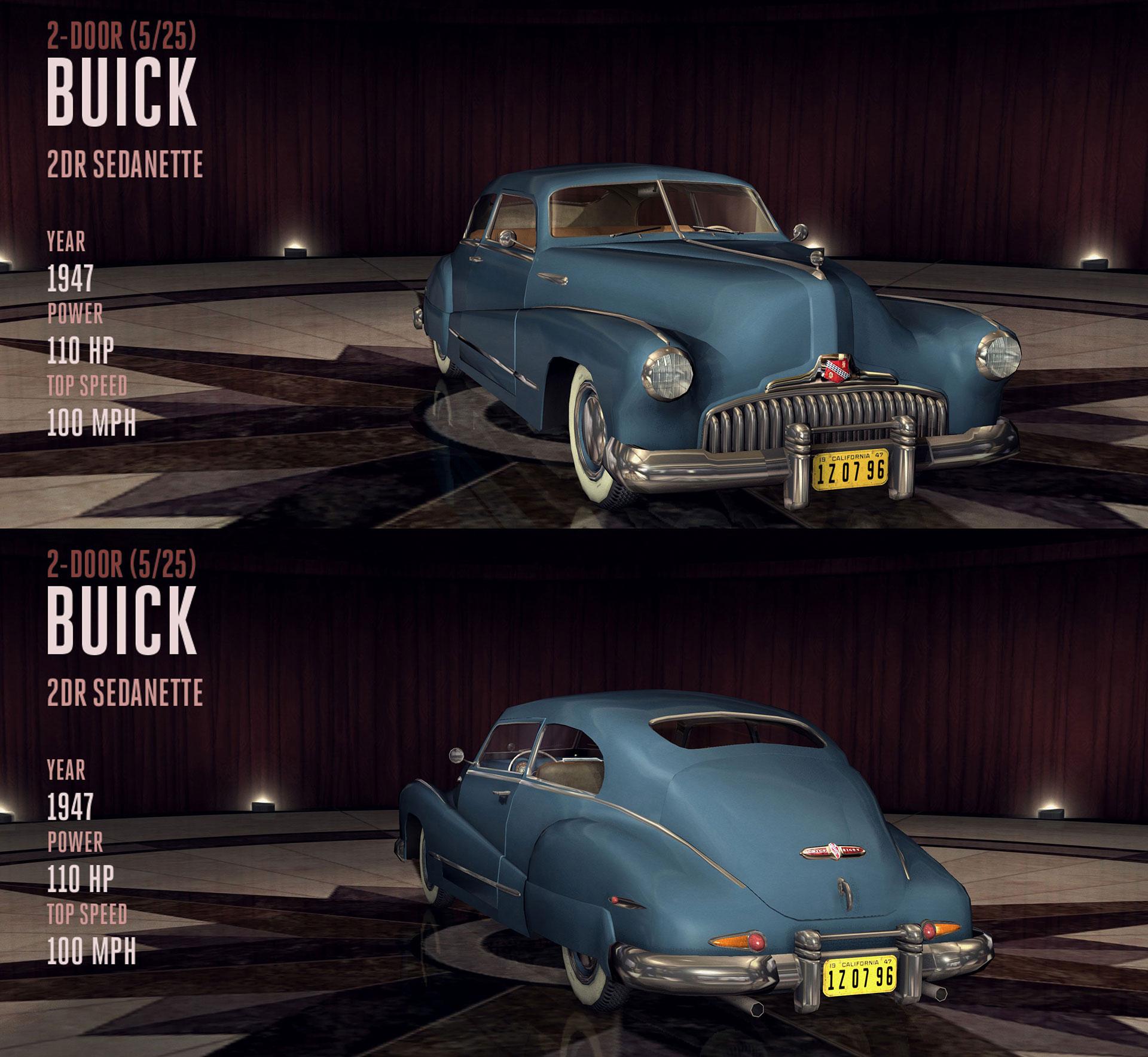 Buick 2DR Sedanette