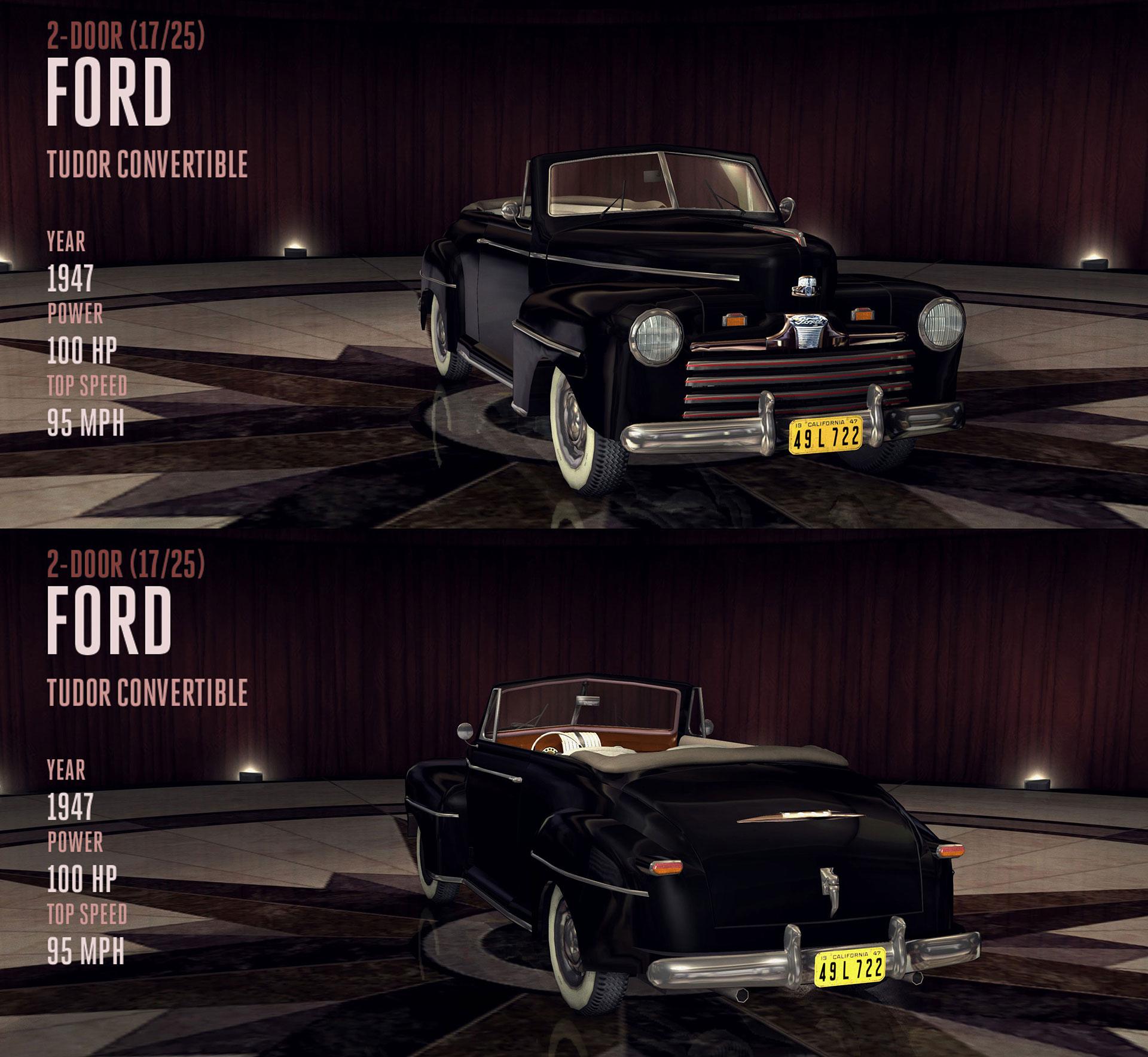 Ford Tudor Convertible