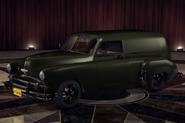 ChevyCivilianVan Green