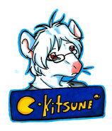 Kitsune^2 badge
