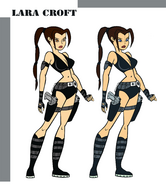 Lara Croft Animated Swimsuit