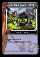 Green Dragonette Card