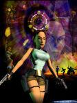 Lara Croft in TR (1996)