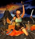 Tomb Raider GBC Artwork