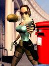 Lara Croft London