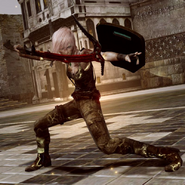 Final Fantasy XIII - Tomb Raider Lightning Outfit
