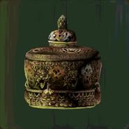Bronze Mahakala Incense Burner