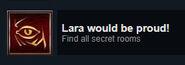 Lara would be proud!