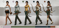 Tomb Raider Ascension Outfits