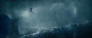 Lara Escaping the Ship
