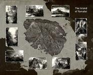 Yamatai Landmark Map