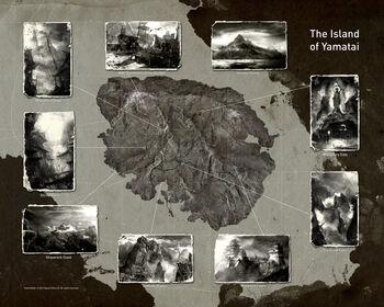 Stylized map