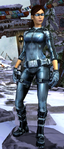 Relic Run Outfit Silver Shadow