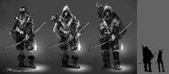 Solarii Archers Concept