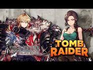 WOTV FFBE x Tomb Raider Collaboration Teaser Trailer