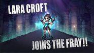 FINAL FANTASY BRAVE EXVIUS x Tomb Raider Lara Croft Arrives