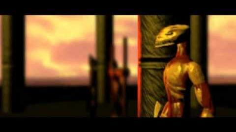 Tomb Raider (1996) Cutscene 09 - Prision