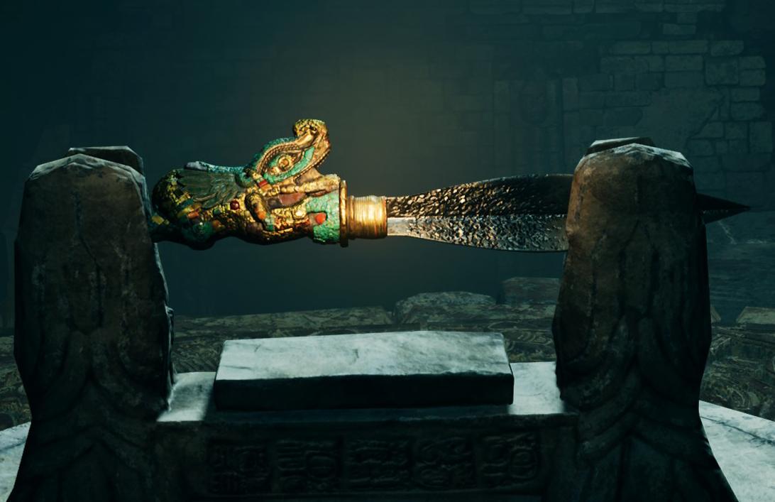 Key Of Chak Chel Artifact Lara Croft Wiki Fandom