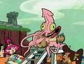 Sombrero Calamar (Un Invocador Loco)