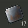 Placa de hierro